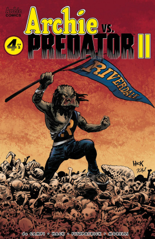 Archie vs. Predator II #4 (Hack Cover)