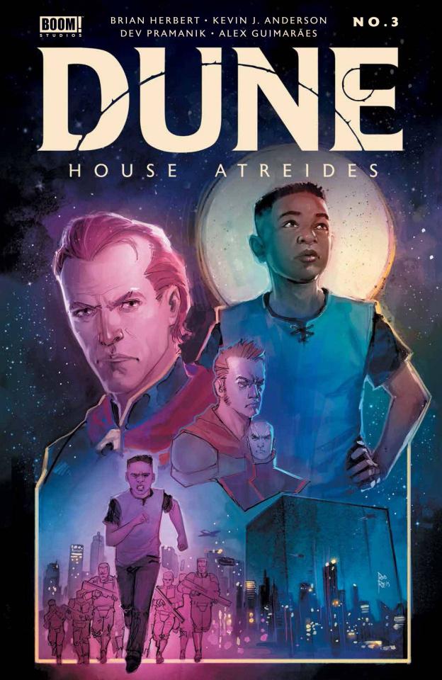 Dune: House Atreides #3 (Reis Cover)
