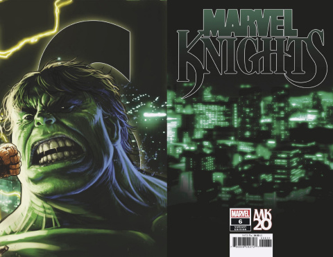 Marvel Knights: 20th Anniversary #6 (Andrews Connecting Cover)