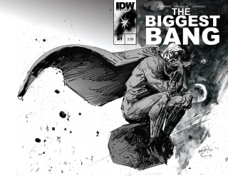 The Biggest Bang #1 (Subscription Cover)
