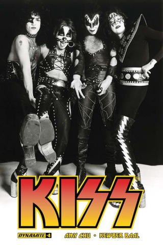 KISS #4 (Photo Cover)
