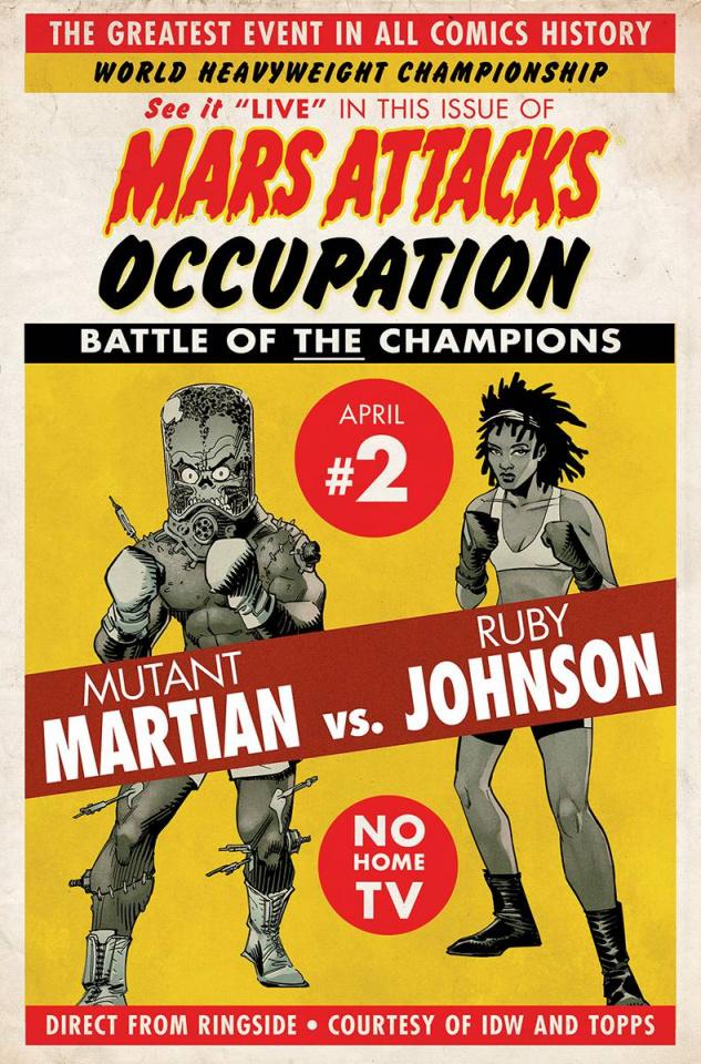 Mars Attacks: Occupation #2