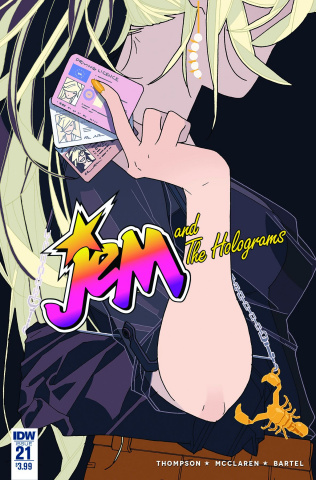 Jem and The Holograms #21