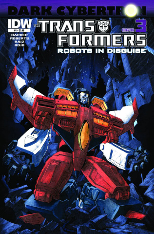 The Transformers: Robots in Disguise #23: Dark Cybertron, Part 3