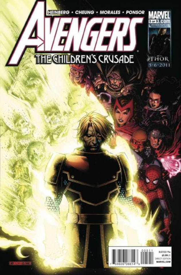 Avengers: The Children's Crusade #5