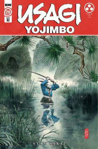Usagi Yojimbo #20 (10 Copy Jesus Hervas Cover)