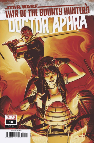 Star Wars: Doctor Aphra #10 (Sway Crimson Cover)