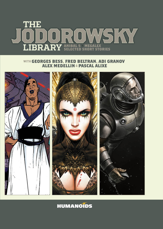 The Jodorowsky Library: Megalex