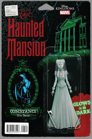 The Haunted Mansion #1 (Action Figure Cover)