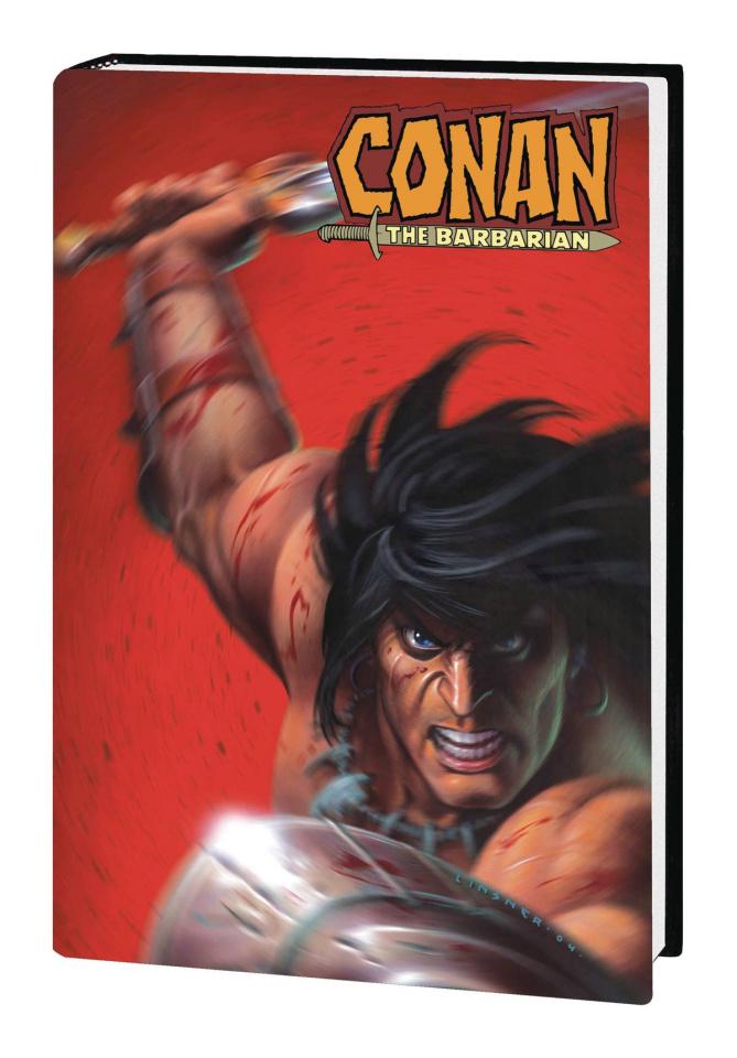Conan the Barbarian by Kurt Busiek (Omnibus Linsner Cover)