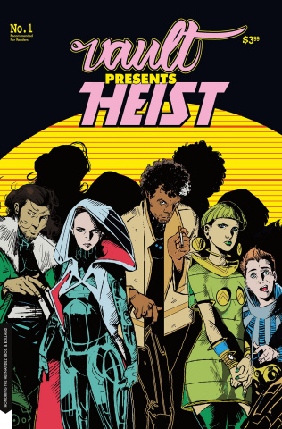 Heist, Or How to Steal a Planet #1 (Hernandez Homage Cover)