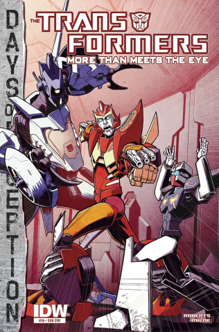 The Transformers: More Than Meets the Eye #38 (Subscription Cover)