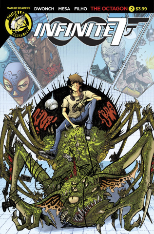 Infinite Seven #2 (Mesa Cover)