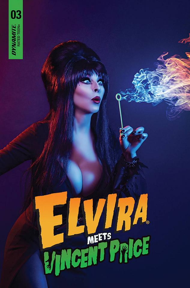 Elvira Meets Vincent Price #3 (Photo Cover)