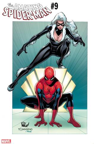 The Amazing Spider-Man #9 (Weiringo Black Cat Cover)