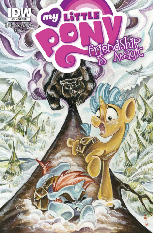 My Little Pony: Friendship Is Magic #38 (Subscription Cover)