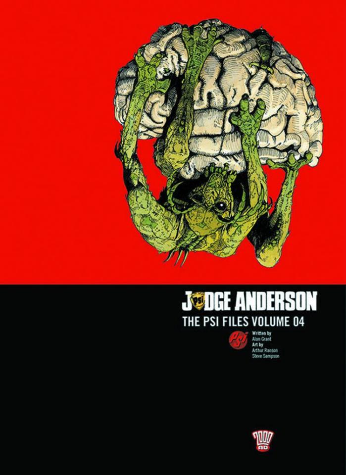 Judge Anderson: The Psi Files Vol. 4