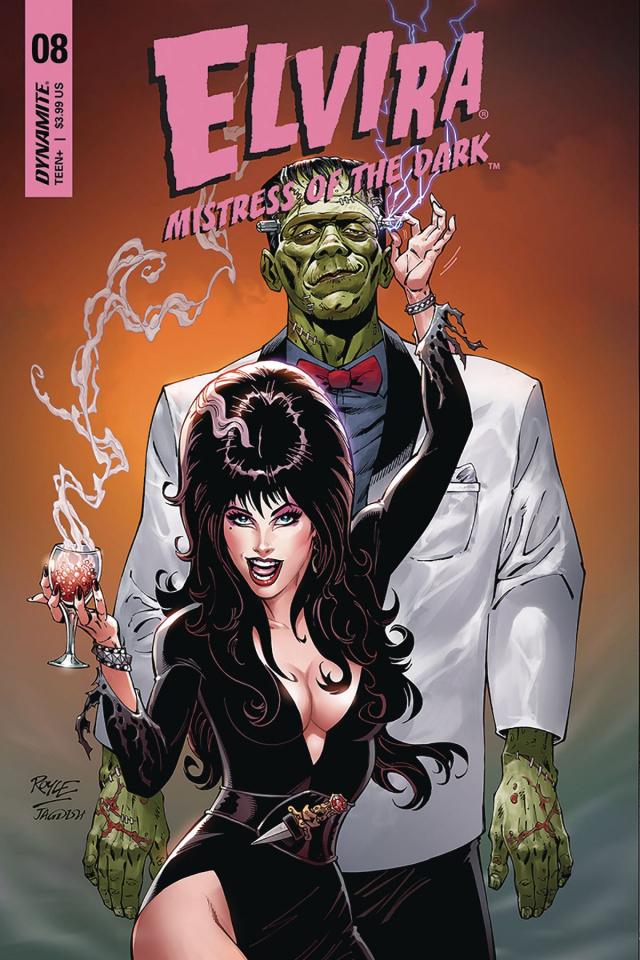 Elvira: Mistress of the Dark #8 (Royle Cover)