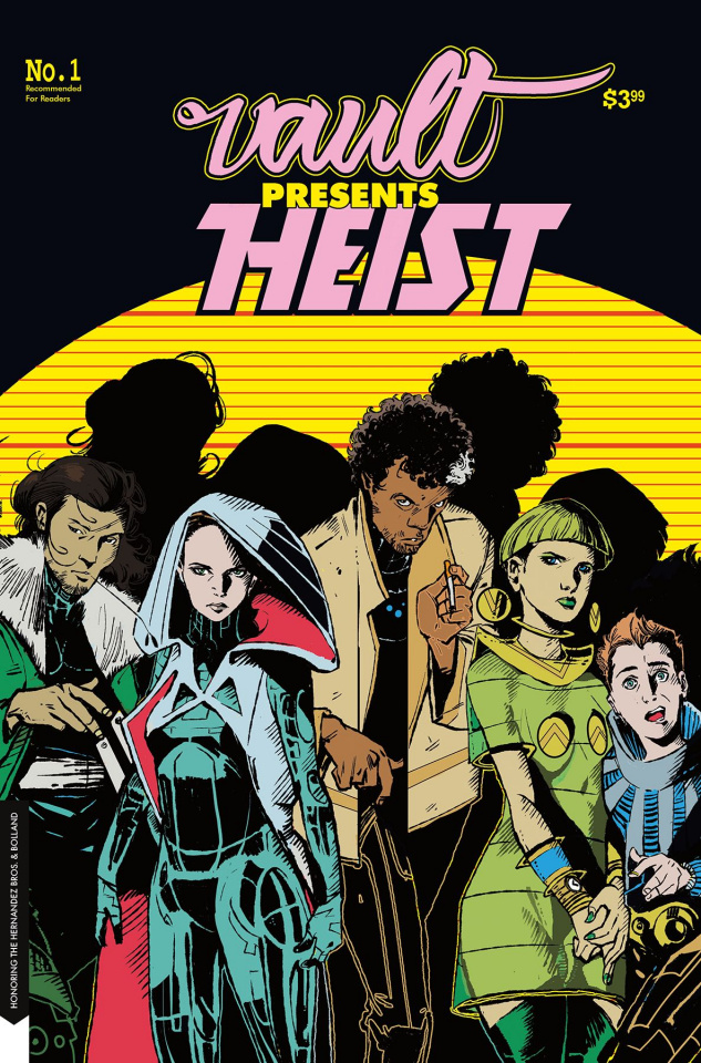 Heist or How to Steal a Planet #1 (Hernandez Homage Cover)