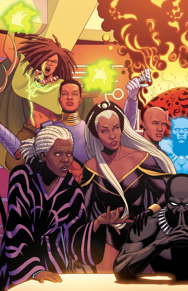 Black Panther #14 (McKelvie Connecting Cover)