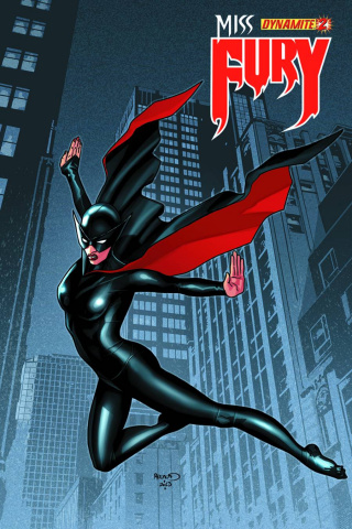Miss Fury #2 (Renaud Cover)