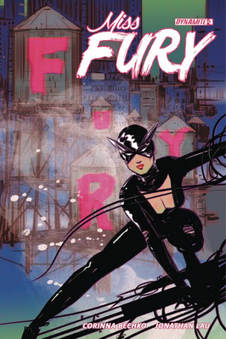 Miss Fury #3 (Lotay Cover)
