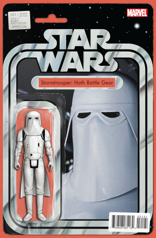 Star Wars #21 (Christopher Action Figure Cover)