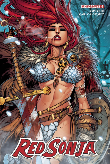 Red Sonja #4 (Meyers Cover)