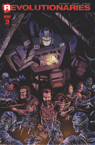 Revolutionaries #3 (Soundwave Cover)