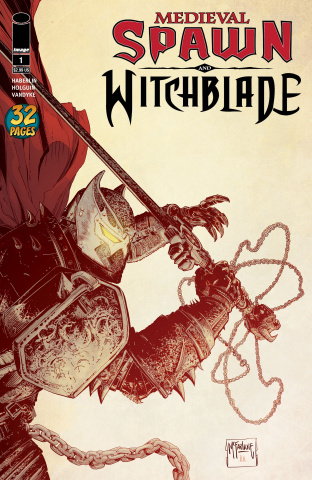 Medieval Spawn and Witchblade #1 (McFarlane Cover)
