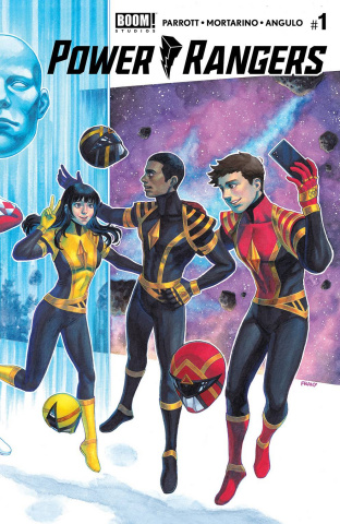 Power Rangers #1 (2nd Printing Connecting Cover)