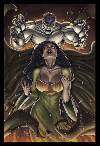 Grimm Fairy Tales: Ascension #2 (Cafaro Cover)
