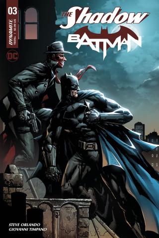 The Shadow / Batman #3 (Desjardins Cover)