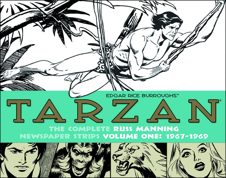Tarzan: The Complete Russ Manning Newspaper Strips Vol. 1: 1967-1970