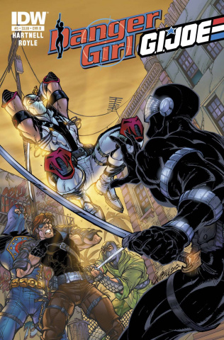 Danger Girl / G.I. Joe #5