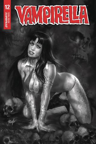 Vampirella #12 (10 Copy Parrillo B&W Cover)