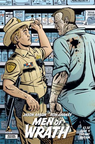 Men of Wrath #4 (Lapham Cover)