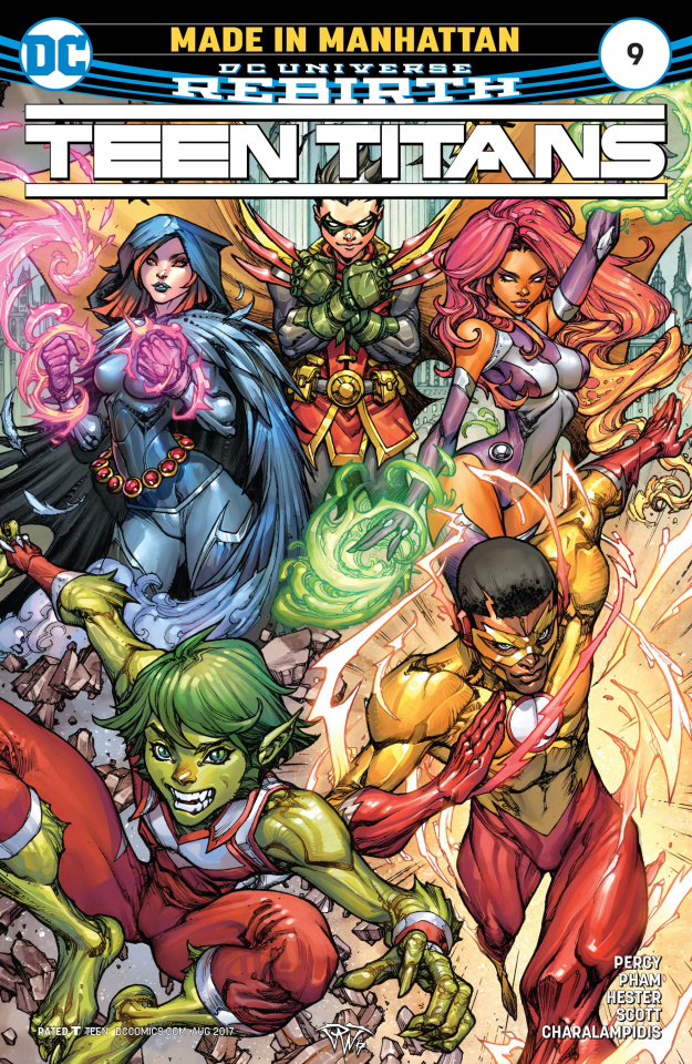 Teen Titans #9 (Variant Cover)