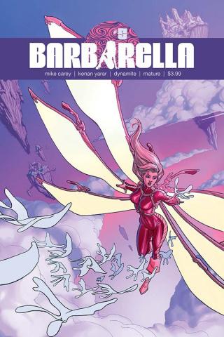 Barbarella #5 (D'Alfonso Cover)