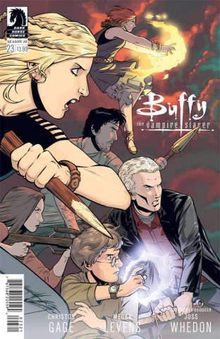 Buffy the Vampire Slayer, Season 10 #23 (Isaacs Cover)