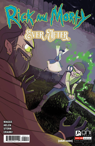 Rick and Morty: Ever After #4 (Helen Cover)