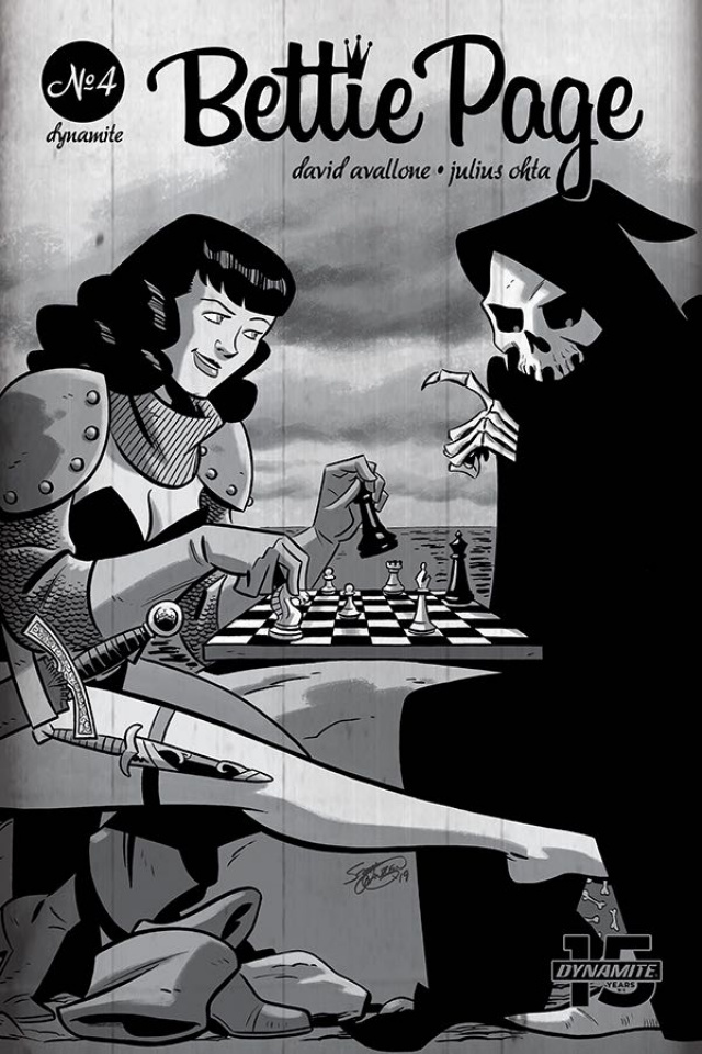 Bettie Page: Unbound #4 (Chantler Cover)