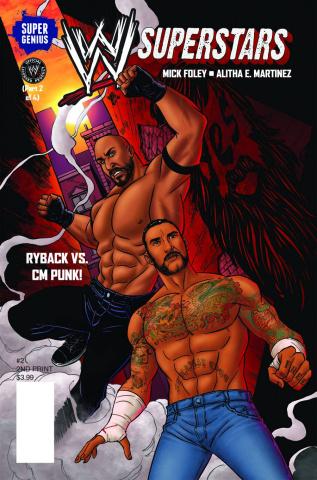 WWE Superstars #2 (2nd Printing)