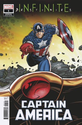 Captain America Annual #1 (Ron Lim Connecting Cover)