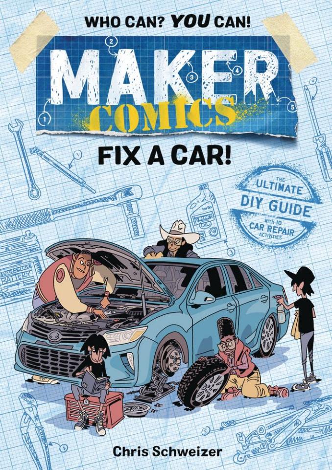 Maker Comics: Fix A Car