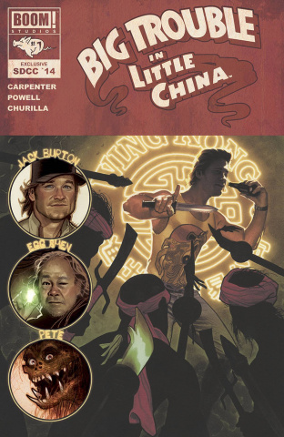 Big Trouble in Little China #1 (SDCC Cover)
