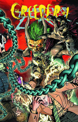 Justice League Dark #23.1: The Creeper Standard Cover