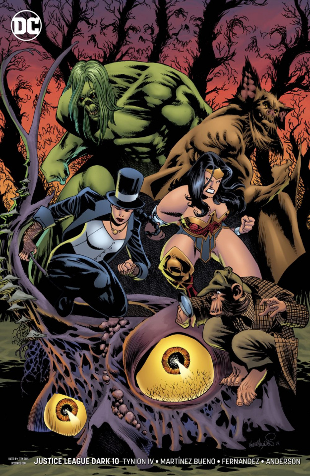 Justice League Dark #10 (Variant Cover)