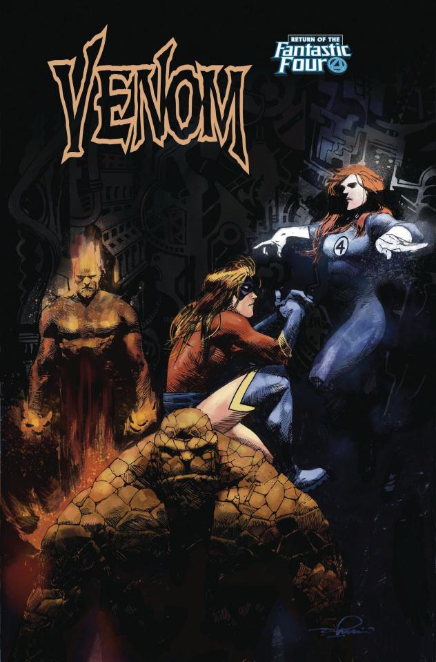 Venom #5 (Zaffino Return of Fantastic Four Cover)