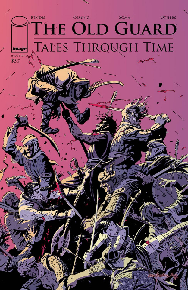 The Old Guard: Tales Through Time #3 (Fernandez Cover)